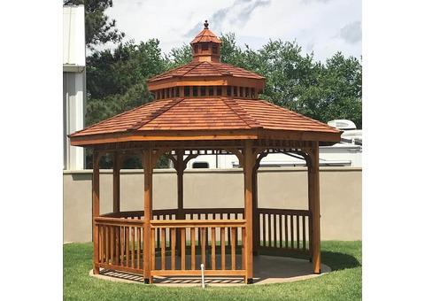 Wooden Gazebo Suppliers   Thatch Roof Gazebo Dubai   Gazebo in Dubai