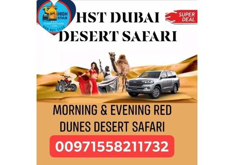 Dubai Desert Safari and City Tour