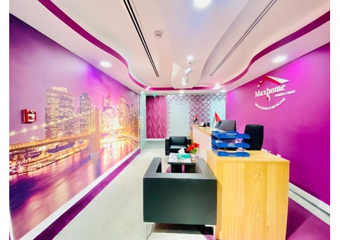 Well-Maintained  and Equipped Office Space in Perfect Place