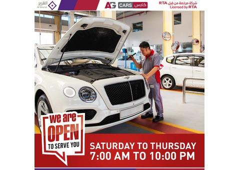 Largest Premium Multi-brand Car Service Centre Network Across the UAE