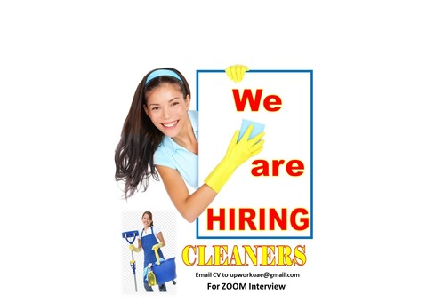Female Cleaners Required