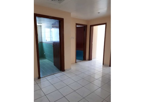 2BHK with Central A/C in well maintained family building available for rent in Bur Dubai