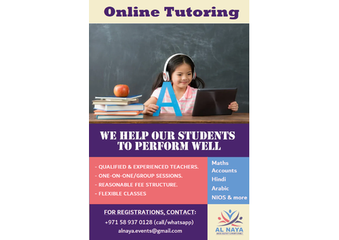 Online Tutoring for All Subjects