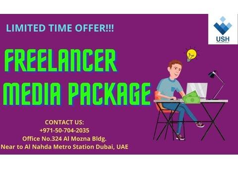 Sharjah Media City Freelancer Media Package