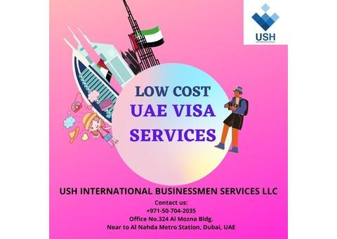 UAE VISA SERVICES (budget wise)