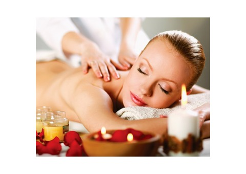 Rira Spa offering 100 AED - 1 Hour Massage with oil