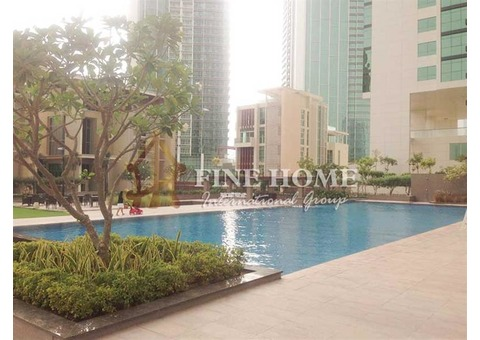 In Marina Square 2BR Apartment with Soothing Sea View.
