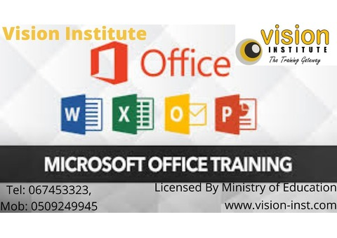 E-OFFICE TRAINING START WITH DISCOUNT IN VISION - 0509249945