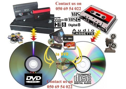 Video conversion services Dubai (050 6954022)