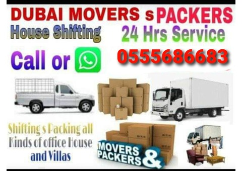 movers And packers in  al safa  0555686683