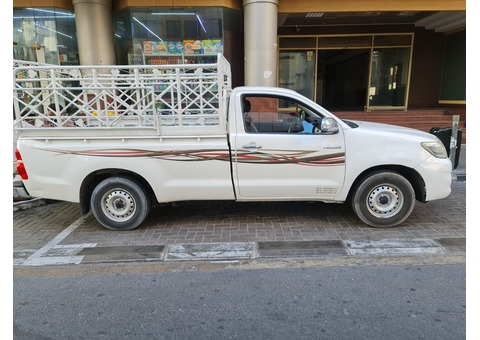 1&3 ton pickup for rent in JVC. 0551811667