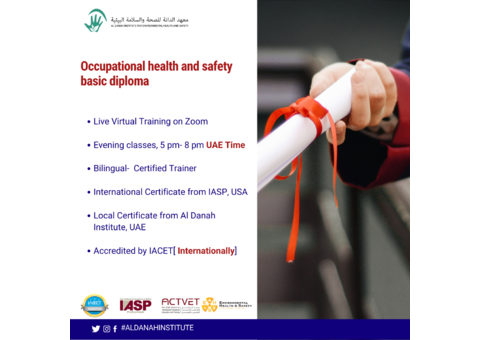 Occupational health and safety basic diploma- Live Virtual Training