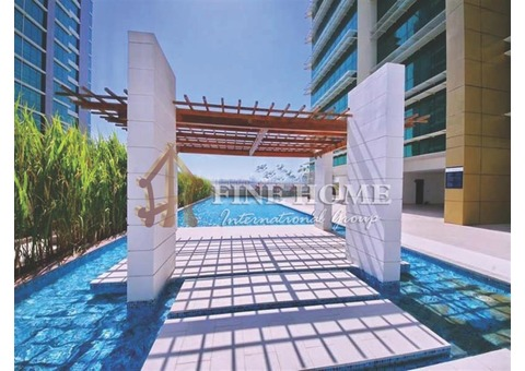 SEA VIEW&High Floor 3BR Apartment+Maid's Room.