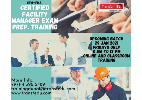 CERTIFIED FACILITY MANAGER Exam Preparation training