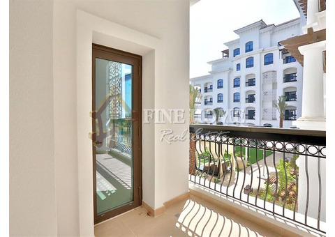 Now Available  this Fine Apartment w/ 2 Balconies