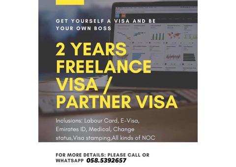 Freelance/Azad Visa Installment Possible