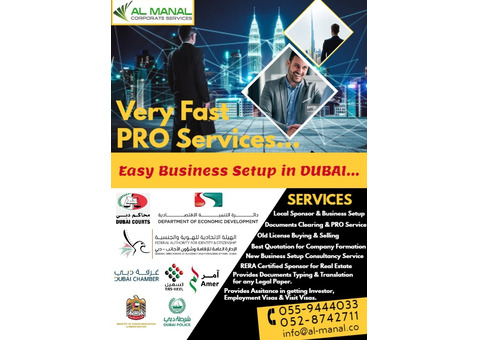 Fastest PRO Services. Please Contact: 055-9444033 & 052-8742711