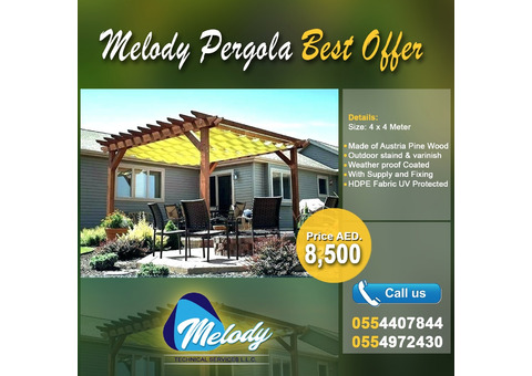 Outdoor Pergola  50% Off Sale