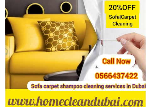 PROFESSIONAL SOFA CARPET CLEANING HOME CLEANING DUBAI 0566437422
