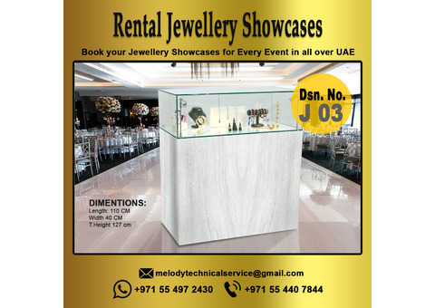 Jewelry Display for Rent | Jewelry Showcases for Events | Display Suppliers in Dubai