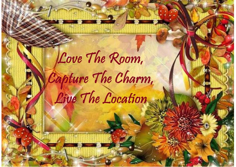 Love The Room, Capture The Charm, Live The Location