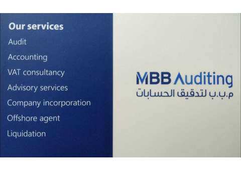 Accounting, bookkeeping and VAT services