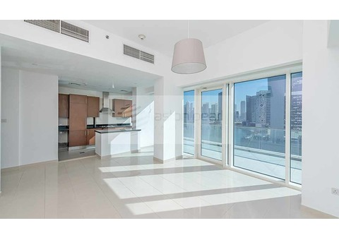 Burj / Canal View, AC and Gas Free, 1BR