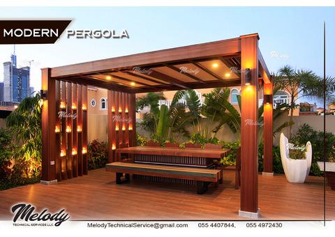 Pergola Suppliers in Dubai   Wooden Pergola in UAE   Patio Pergola in Arabian Ranches