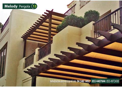 Balcony Pergola in Al Barari   Pergola Suppliers in Dubai   Pergola in Al Furjan   Pergola in UAE