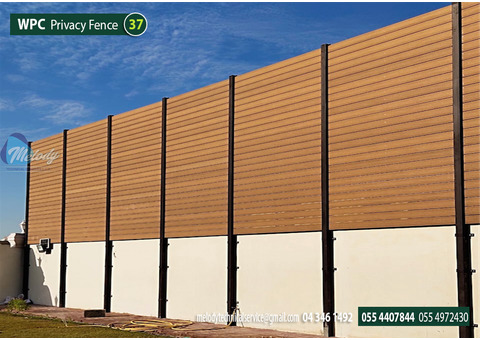 WPC Fence Suppliers in Dubai | WPC Fence in Green Community | WPC Fencing in UAE