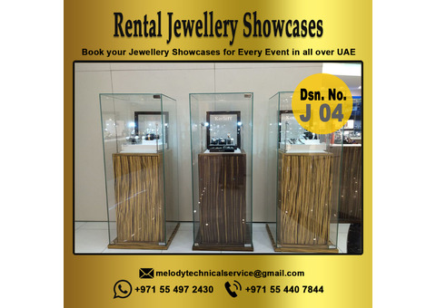 Jewelry Display Suppliers in Dubai | Display Showcase for Rent, Events, Exhibition in UAE
