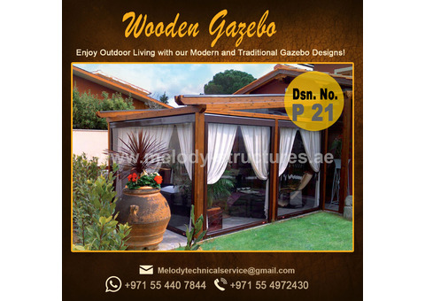 Wooden Gazebo in Dubai | Gazebo in Abu Dhabi | Gazebo in UAE