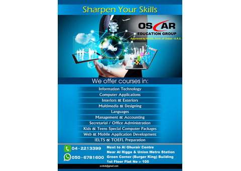 Certified Graphic and Web Designing Training - 0506781600