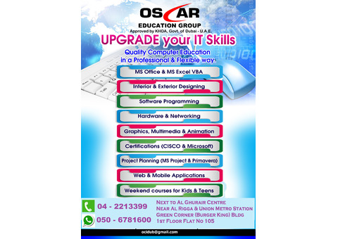 School Tuitions for all age group - 04 2213399 / 050 6781600