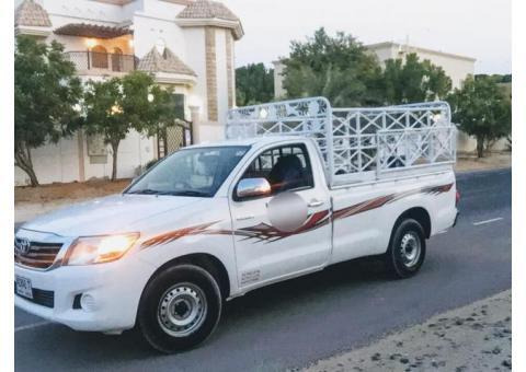 Pickup truck for rent jumeirah village 0567172175