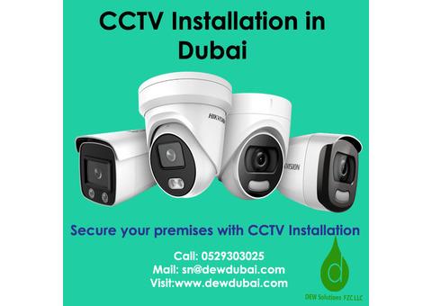 Best CCTV Installation in Dubai- Dew Solutions