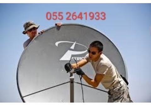 Satellite dish TV fixing akoya 0552641933 Dubai