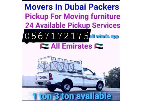 Pickup truck for rent in Al Qusais 0567172175