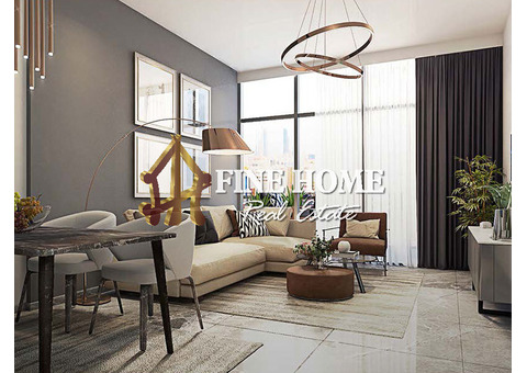 Modern 1BR w/ Balcony + Flexible Payment Plan in Masdar City