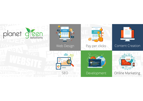 #1 Web Design Company in Dubai | Planet Green Solutions Dubai