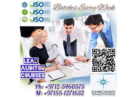 ISO9001 ISO14001 ISO22000 ISO27001 ISO45001 Lead Auditor Courses