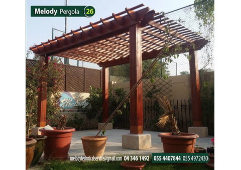 Pergola Installation UAE | Wooden Pergola Suppliers Dubai