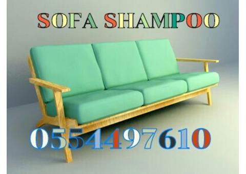 Professional Sofa Shampooing Cleaning Services Dubai 0554497610