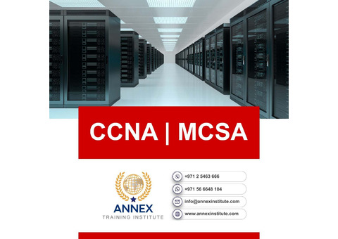 CCNA and MCSA  Course Training