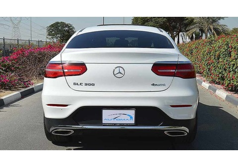 2019 Mercedes GLC 300 AMG, 2.0 4Matic, 0km with Warranty