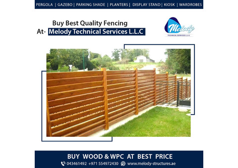 WPC Fence | WPC Fence in Arabian Ranches | WPC Fence Suppliers Al Furjan, UAE