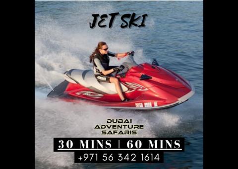 Jet Ski Water Sports 30 Mins 60 Mins Starts From 99 AED
