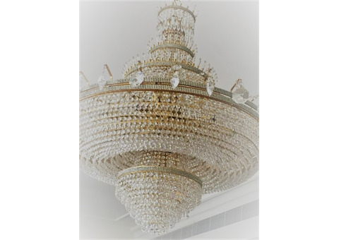 German made set of chandeliers in perfect condition