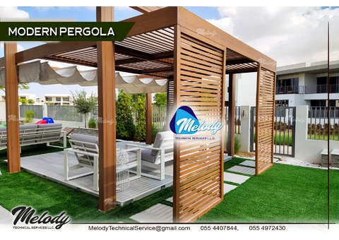 Backyard Pergola Suppliers Dubai Al Furjan Abu Dhabi Sharjah UAE