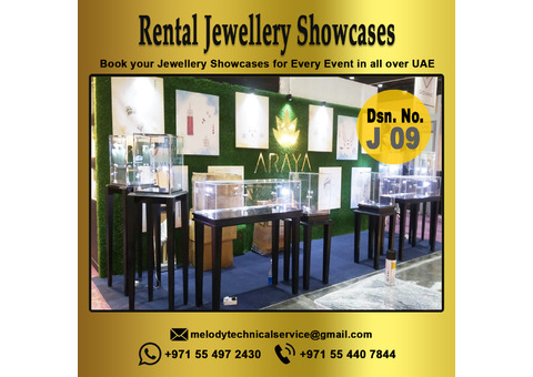 Jewel display Showcases suppliers in Dubai UAE | Jewelry Display for Rent,Events in UAE